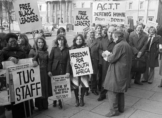 Liverpool Anti-Apartheid Activists